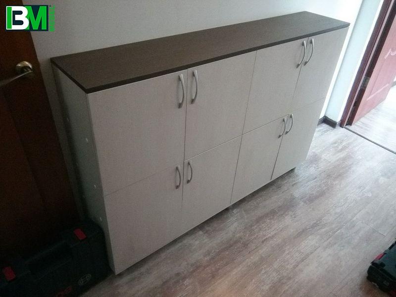 тумба с ящиками в офис или детский сад