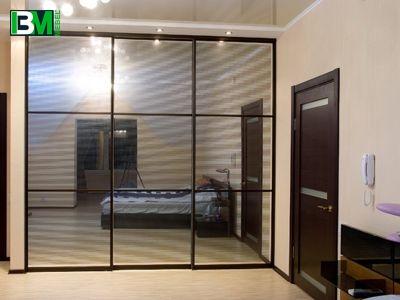 зеркальный шкаф купе в прихожую и спальню