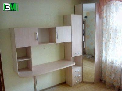 светло бежевый набор мебели для детской