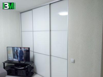 белые двери купе в комнату перегородка