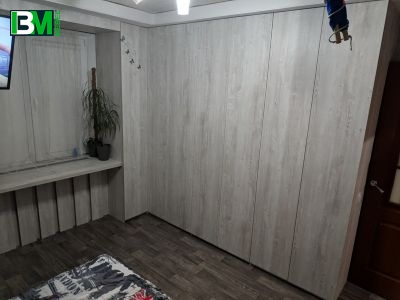 набор мебели встроенный угловой шкаф со столом